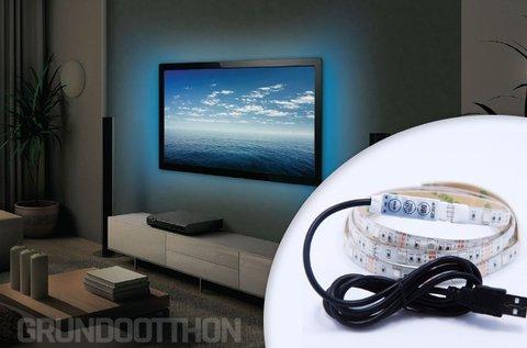 Öntapadós LED szalag USB csatlakozóval