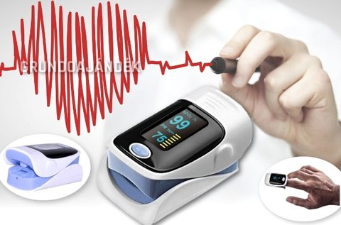 Véroxigénszint mérő grafikus pulzus kijelzéssel