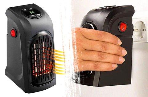 LED kijelzős mini hősugárzó kisebb helyiségekbe
