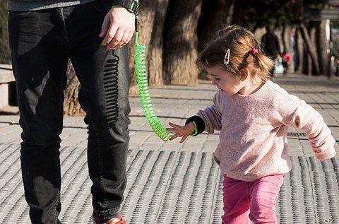 Csellengő biztonsági karpánt gyerekeknek