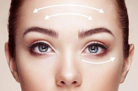 UltraLift HIFU szemkörnyék és homlok kezelés