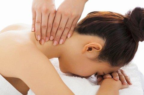 30 perces lazító hát-, váll- és nyakmasszázs
