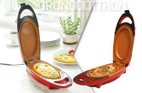 Praktikus dupla felületű konyhai sütő