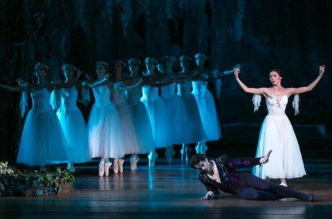 Giselle című balett előadás az Erkel Színházban