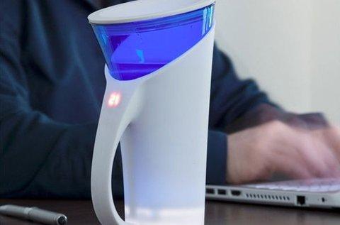 4 dl-es okospohár LED fényjelzéssel