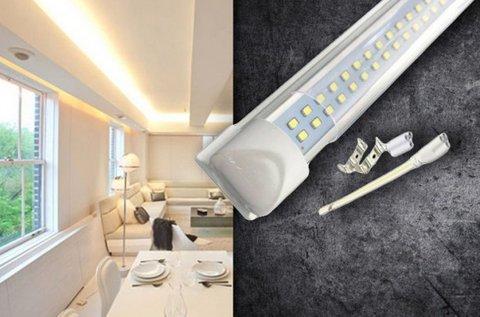Természetes fényű dupla soros LED lámpa