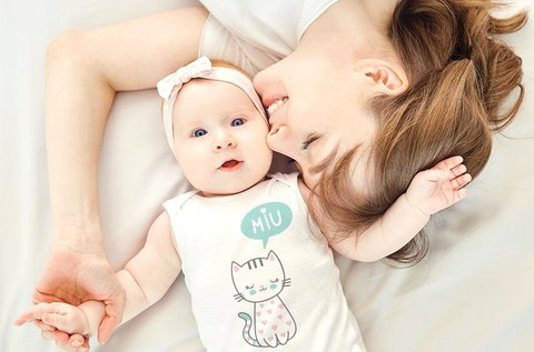Online tervezővel készített egyedi baby body