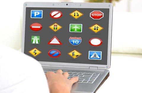 Online KRESZ tanfolyam 10 óra vezetéssel