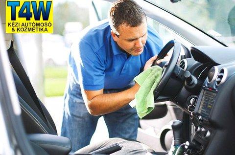 Prémium külső-belső autótisztítás és -ápolás