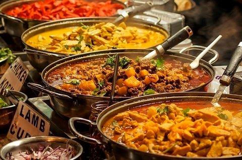 Indiai főzőkurzus 1 főre organikus alapanyagokkal