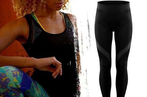 Shock Absorber leggings és top fekete színben