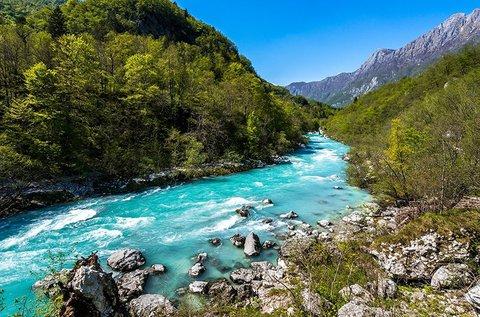 2 napos vadvízi kaland a Soca-folyón