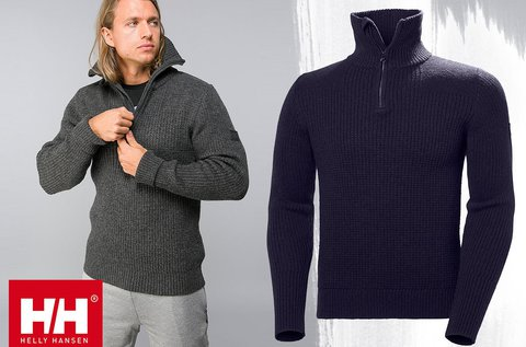 Helly Hansen Marka Wool Sweater férfi pulóver