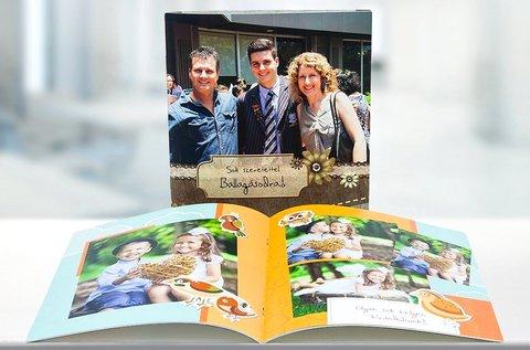 40 oldalas fotókönyvek akár díszdobozzal