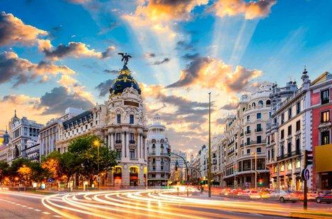 5 napos városlátogatás Madridban repülővel