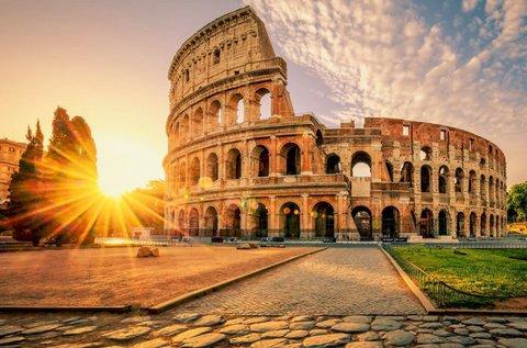 5 nap az örök városban, Rómában repülővel