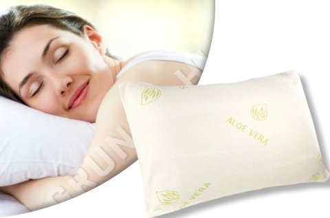 Memóriahabos aloe vera párna a pihentető alvásért