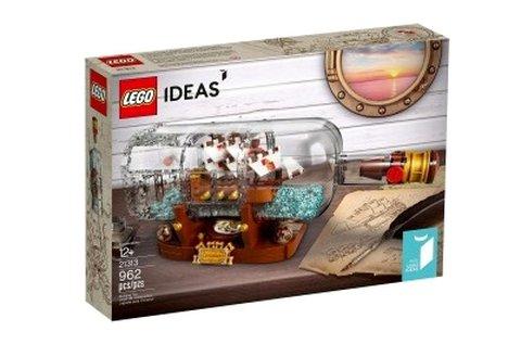 Lego Ideas Hajó a palackban építőjáték