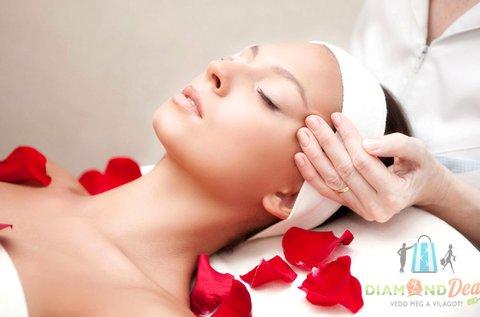 Női szépségcsomag relaxáló arcmasszázzsal