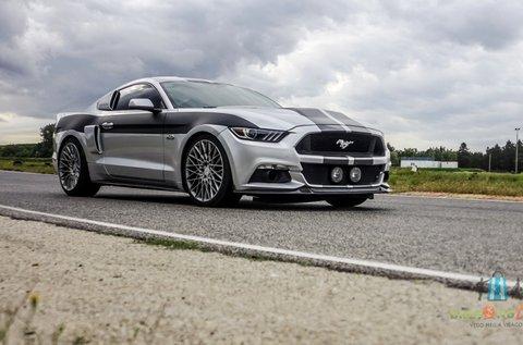 2016-os Ford Mustang élményvezetés Örkényben