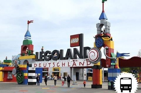 Élményteli kirándulás Legolandbe, buszos úttal
