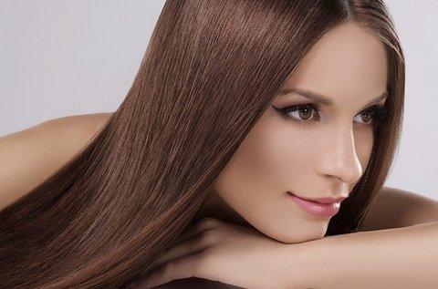 Alpha-keratinos vegán tartós hajegyenesítés