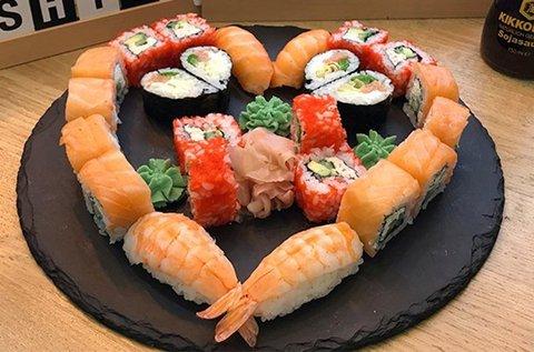 2 személyes klasszikus 26 db-os sushi szett