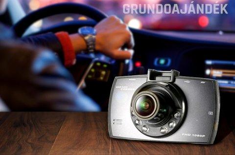 Full HD autós kamera beépített G-szenzorral