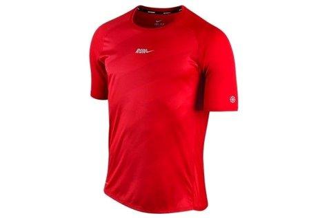 Nike rövid ujjú férfi póló sportoláshoz