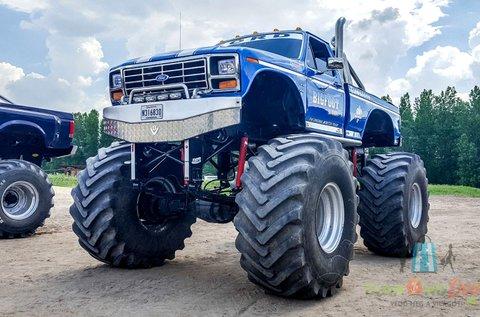 2 kör Blue Buffalo Monster Truck vezetés Gyálon