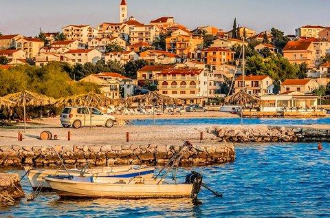 8 napos nyaralás 4 főnek a horvát tengerparton