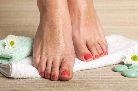 Gyógypedikűr az ápolt lábakért
