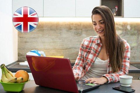 12 hónapos interaktív online angol nyelvtanfolyam