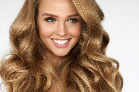 Több lépcsős keratinos hajújraépítés
