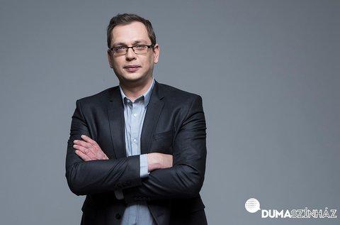Dumaszínház Hadházi Lászlóval, Kőhalmi Zoltánnal