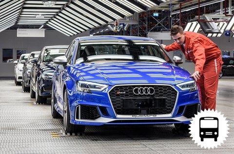 Buszos kirándulás Győrbe Audi gyárlátogatással