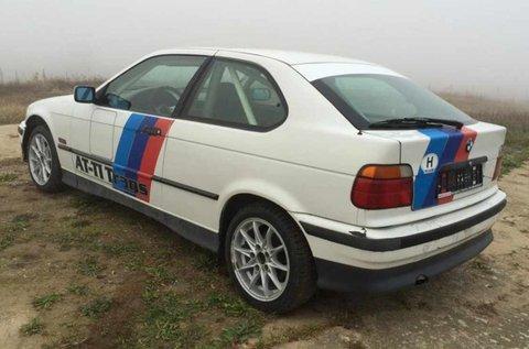 BMW E36 325i rallyautó vezetés Nagykállón