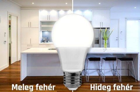 9 W-os LED fényforrás E27-es foglalattal