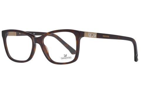 Swarovski női barna szemüvegkeret