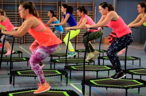 Extra hatékony zsírégetés Jumping fit edzéssel
