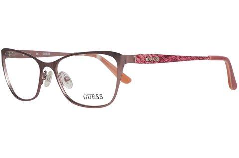 Guess női szemüvegkeret rózsaarany színben