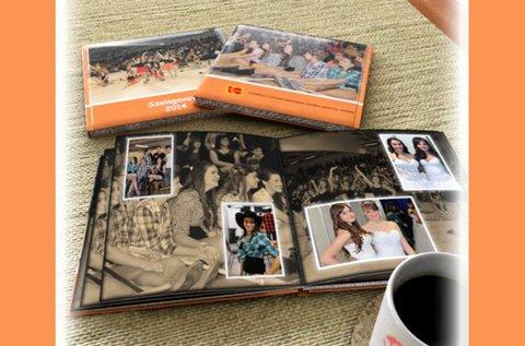 40 oldalas, 20x20 cm-es minőségi fotókönyv