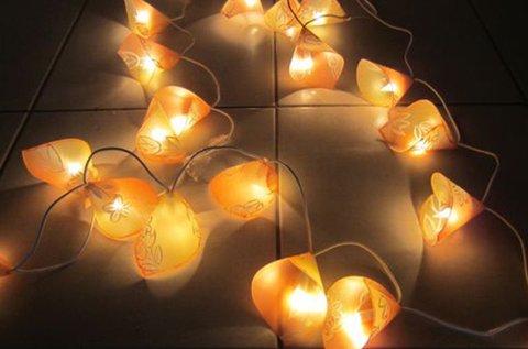 Lámpás- vagy lámpafüzér készítő workshop