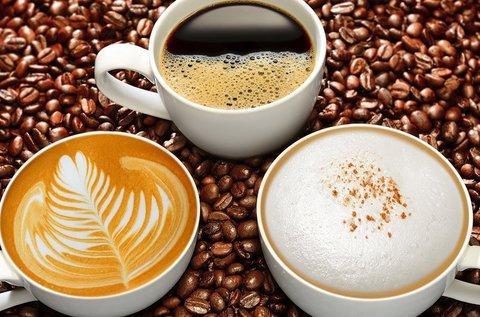 Koffeines vagy mentes cappuccino 2 főnek