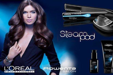 L'Oréal SteamPod hajújraépítés