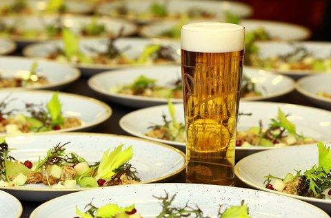 4 fogásos sörvacsora a Dreher sörgyárában