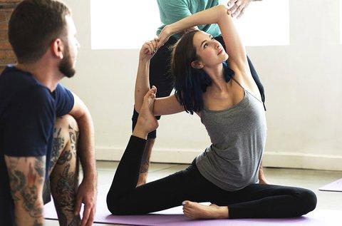 4 alkalmas bérlet választható jóga órára