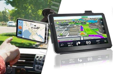 GPS teljes Európa térképpel és autós tartóval