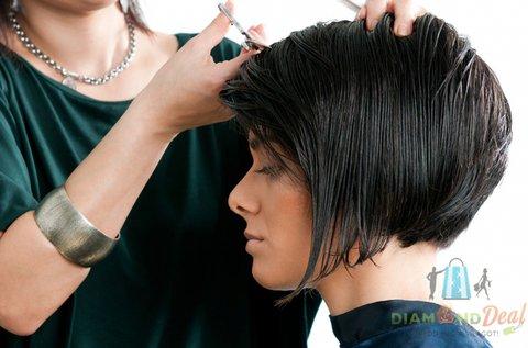 Hajvágás pakolással bármilyen hajhosszra