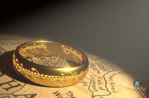 Gyűrűk Ura szabadulós játék